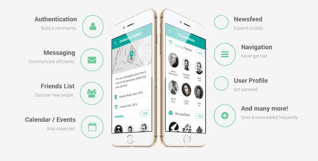 Lithium Mobile UI Kit