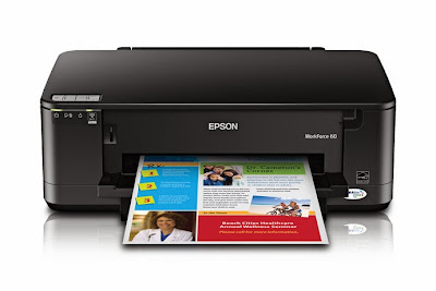 Download Epson WorkForce 60 Inkjet Printer Printers Driver & how to installing