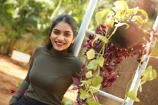 Tollywood Actress Punarnavi Bhupalam Latest Po Gallery in Black Trouser Pant at Pittagoda Movie Interview  0204.JPG