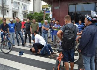 Polícia Militar prende homem por tentativa de furto de bicicleta em Registro-SP