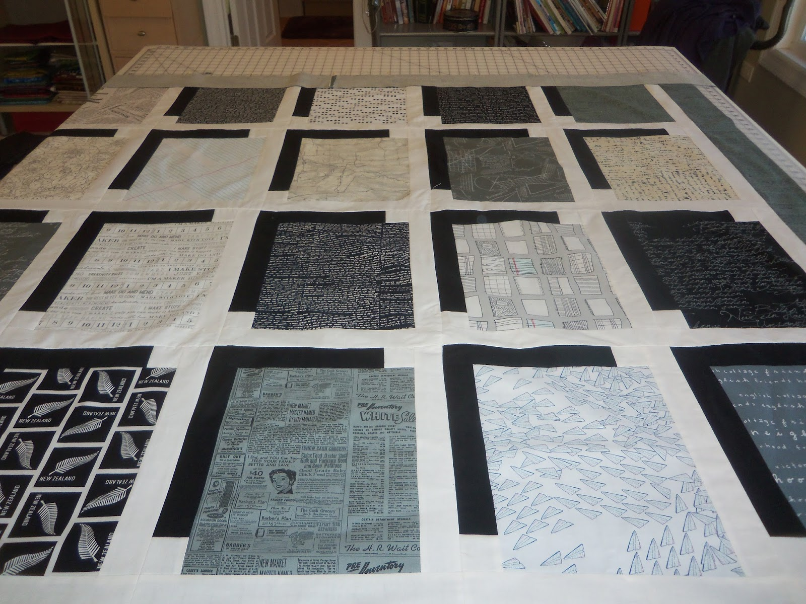 Quilting studio adventures one finish three wip 39 s and for Dining room quilter