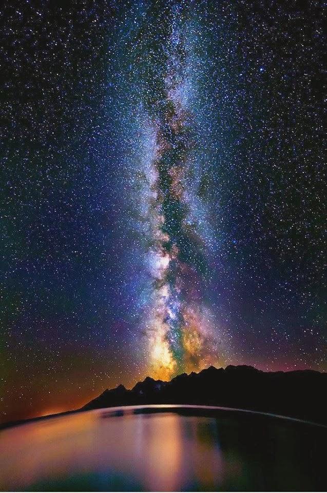 Milky Way, Lake Titicaca