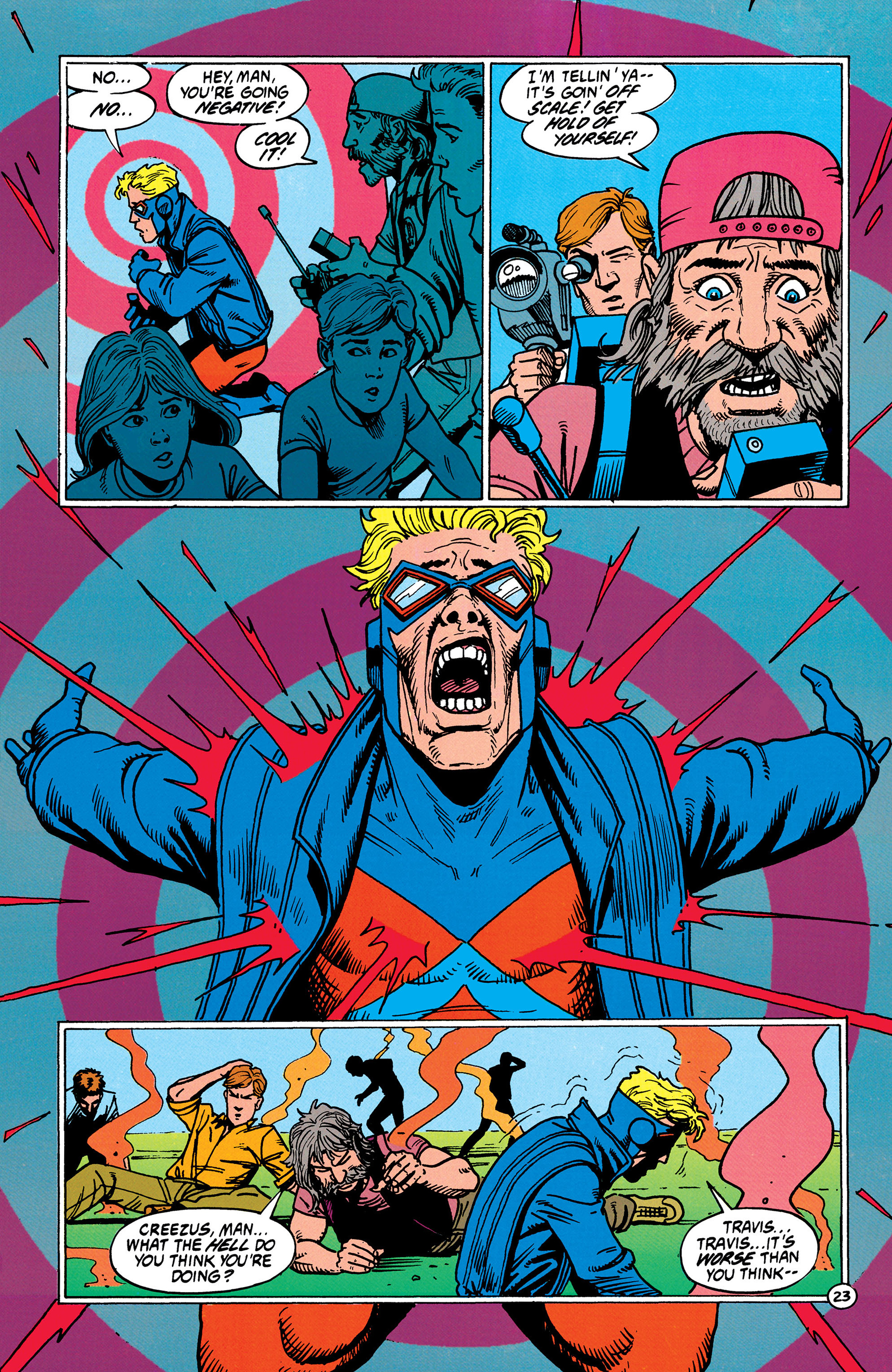 Read online Animal Man (1988) comic -  Issue #37 - 24