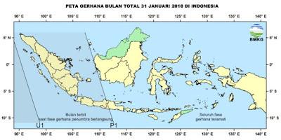 Gerhana Bulan Total 2018