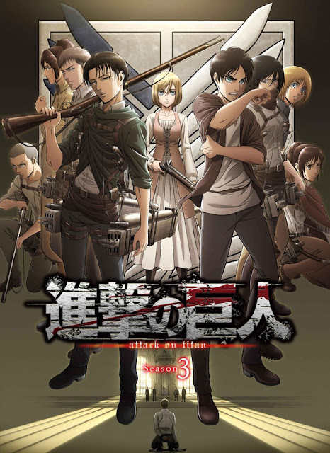 الكشف عن مغنيي شارة بداية الموسم الثالث من أنمي  Shingeki no Kyojin - موقع أنمي4يو Anime4U
