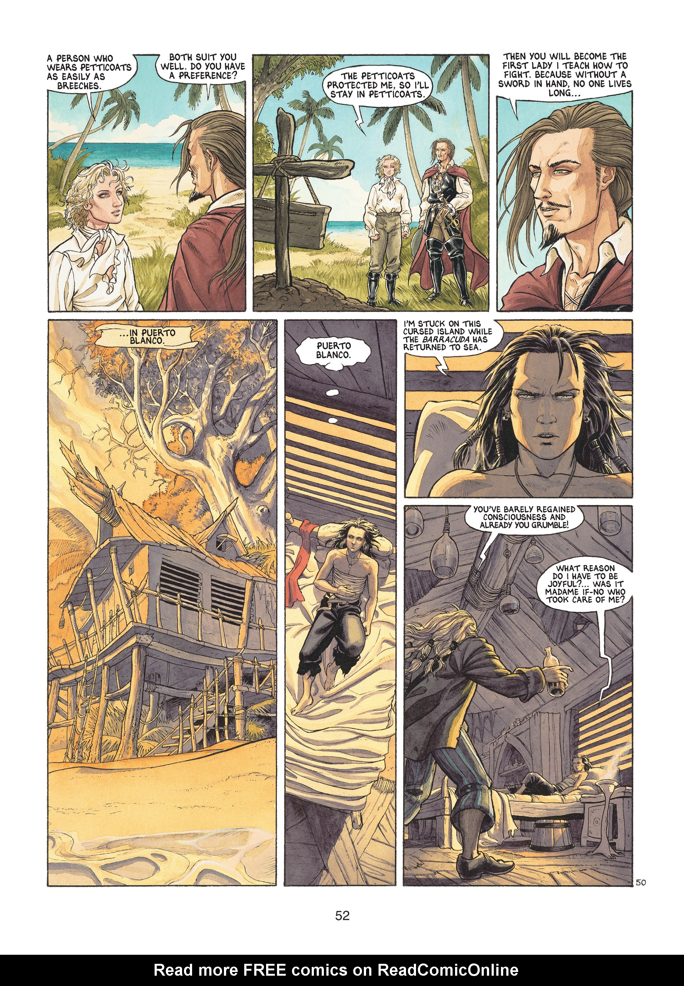 Read online Barracuda comic -  Issue #1 - 52