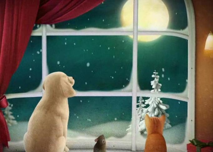 roliga julkort med ljud