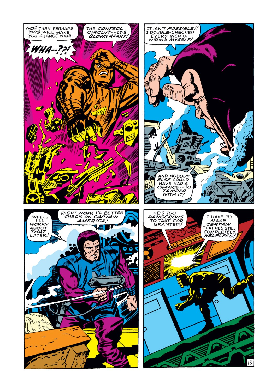 Read online Captain America (1968) comic -  Issue #108 - 14