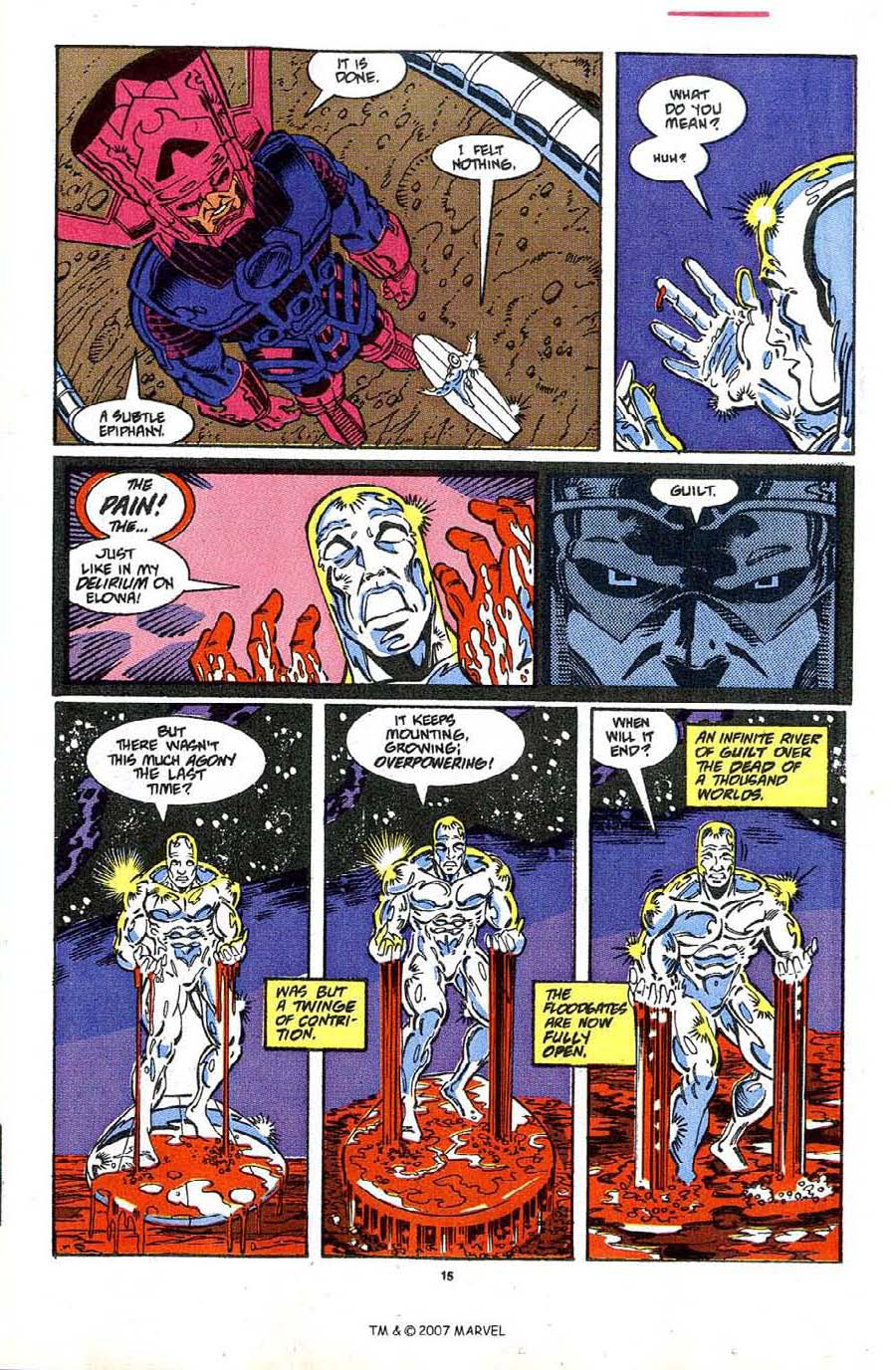 Read online Silver Surfer (1987) comic -  Issue #48 - 17