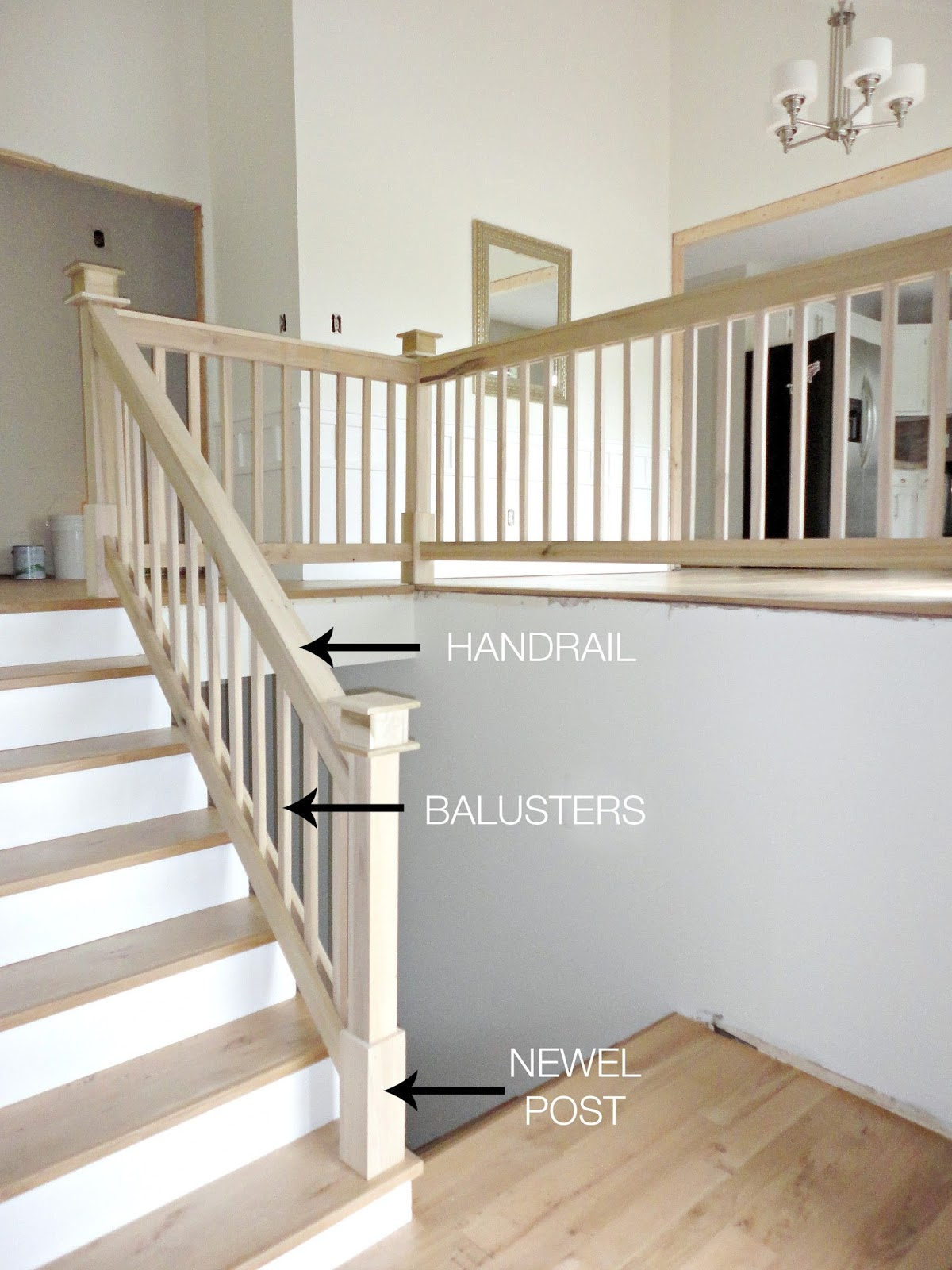 A Diy Split Level Entry Makeover Before After Entryways