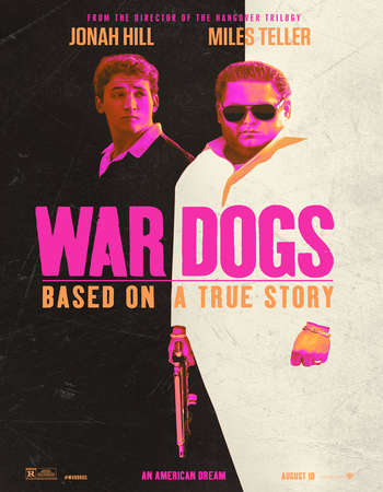Poster Of War Dogs 2016 English 700MB HDTS ESubs Free Download Watch Online Worldfree4u