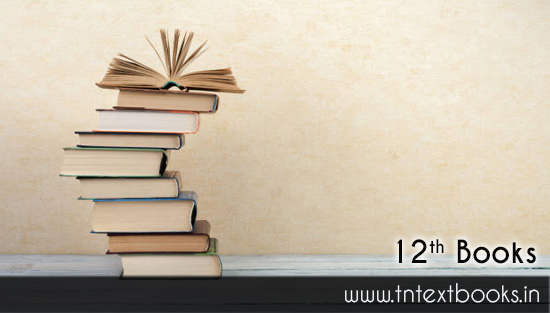 Tamilnadu 12th New Books Free Download PDF Online tn.nic.in