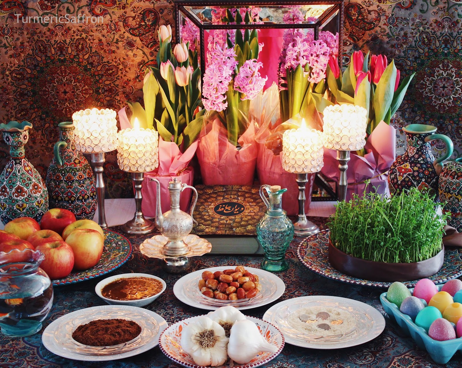 Haft Seen Table Items Meaning