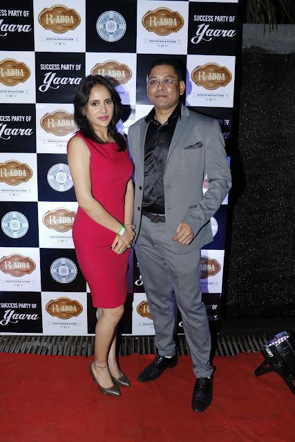 5. Shweta Khanduri with Nihit Srivastav