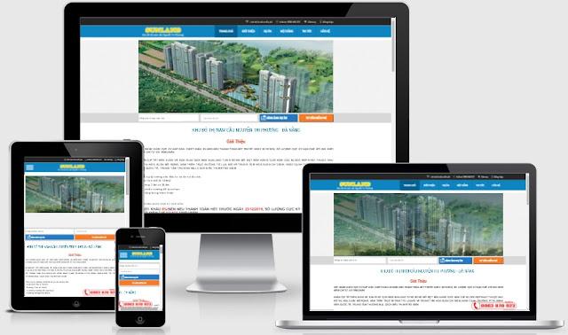 Template blogspot bất động sản chuẩn seo
