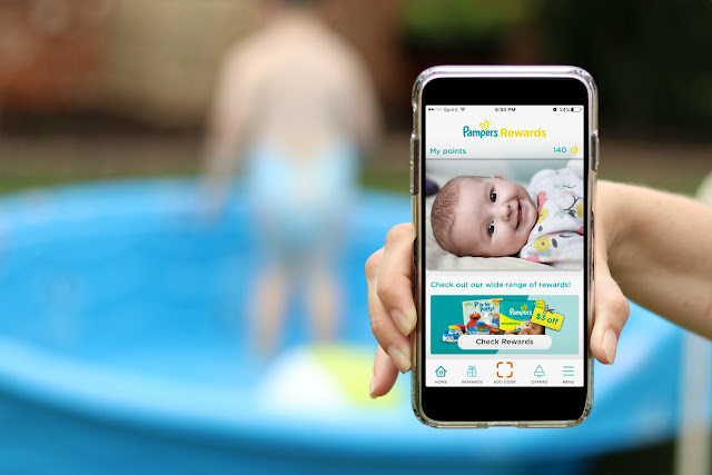 Pampers Rewards App