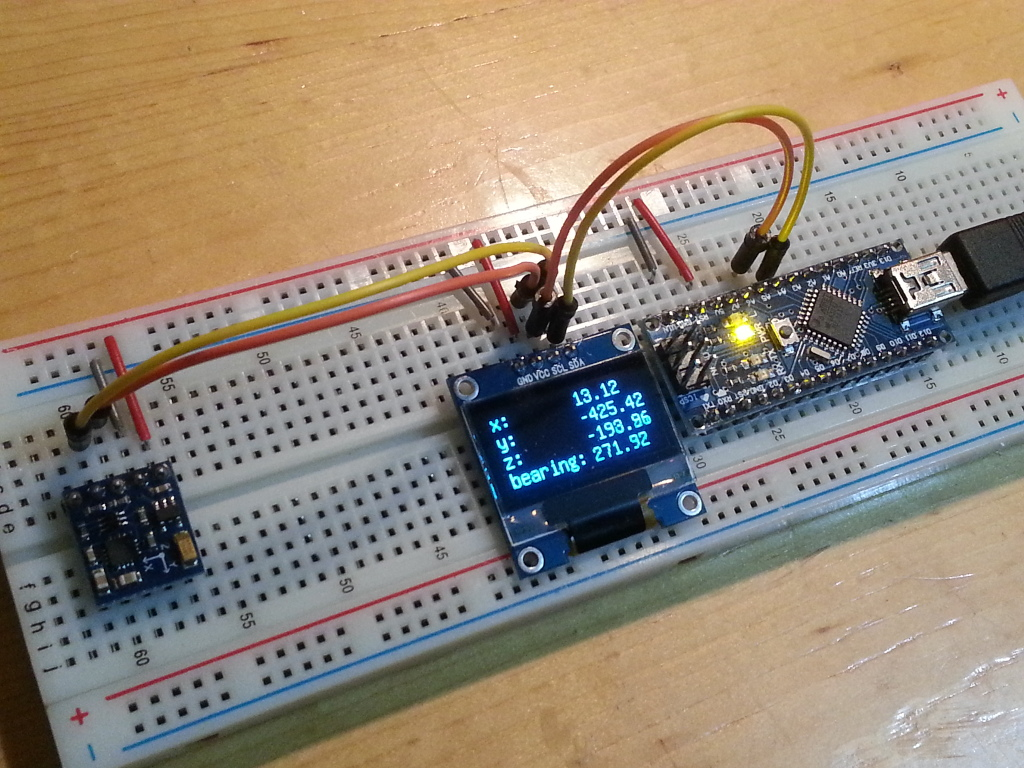 Arduino er hmc l library with calibration for