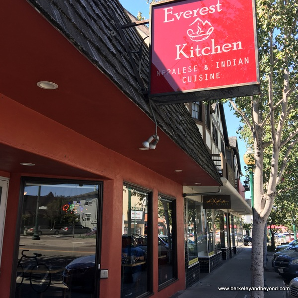 exterior of Everest Kitchen in Albany, California