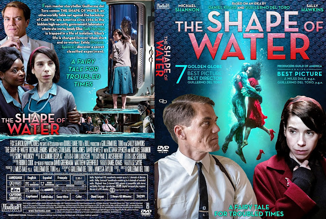 The Shape Of Water DVD Cover