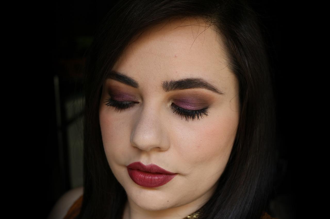 Autunno Soft Profondo   Make up look feat. Purobio - Viola ...