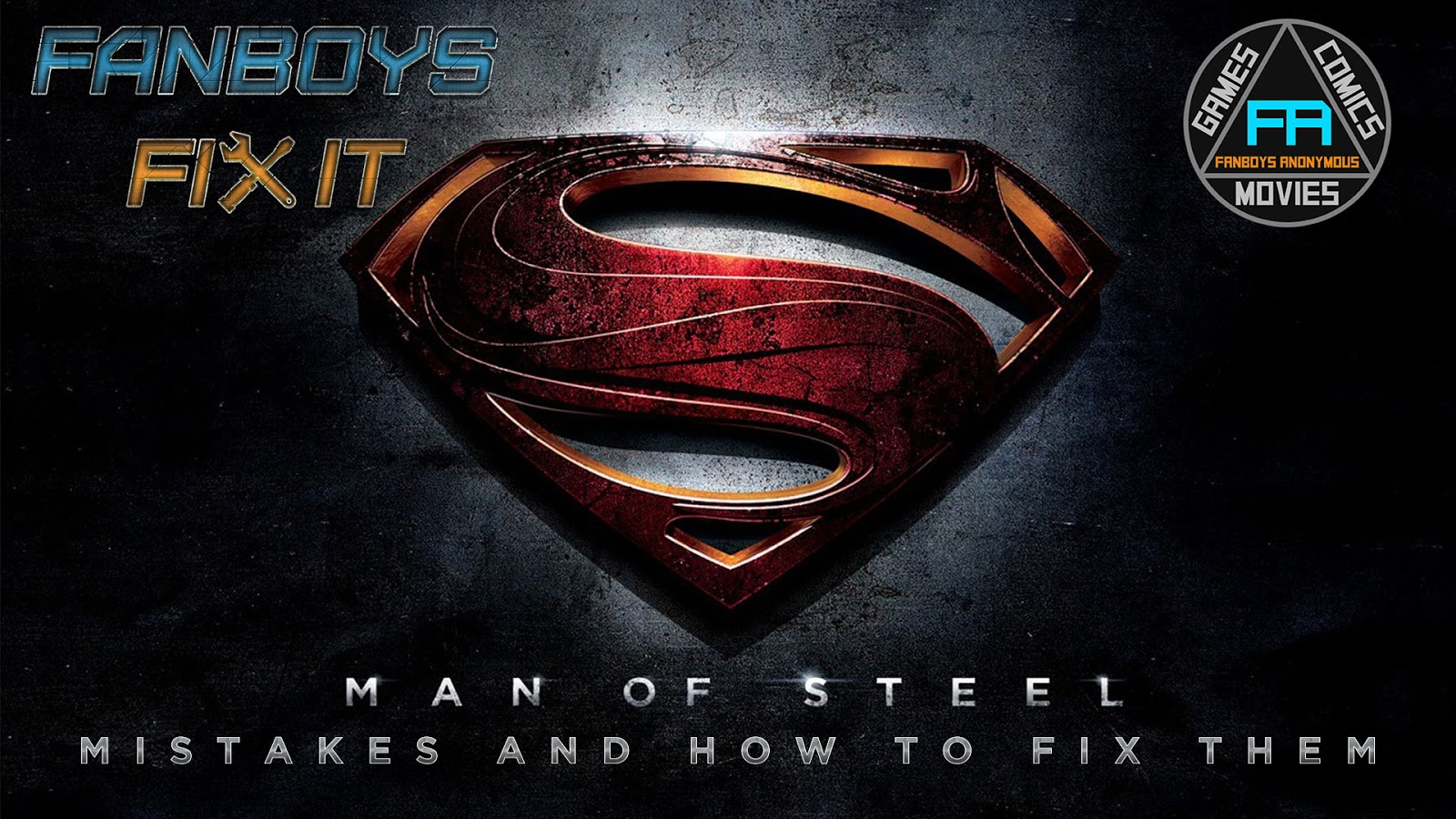 Fanboys Fix DCEU Man of Steel Movies Problems