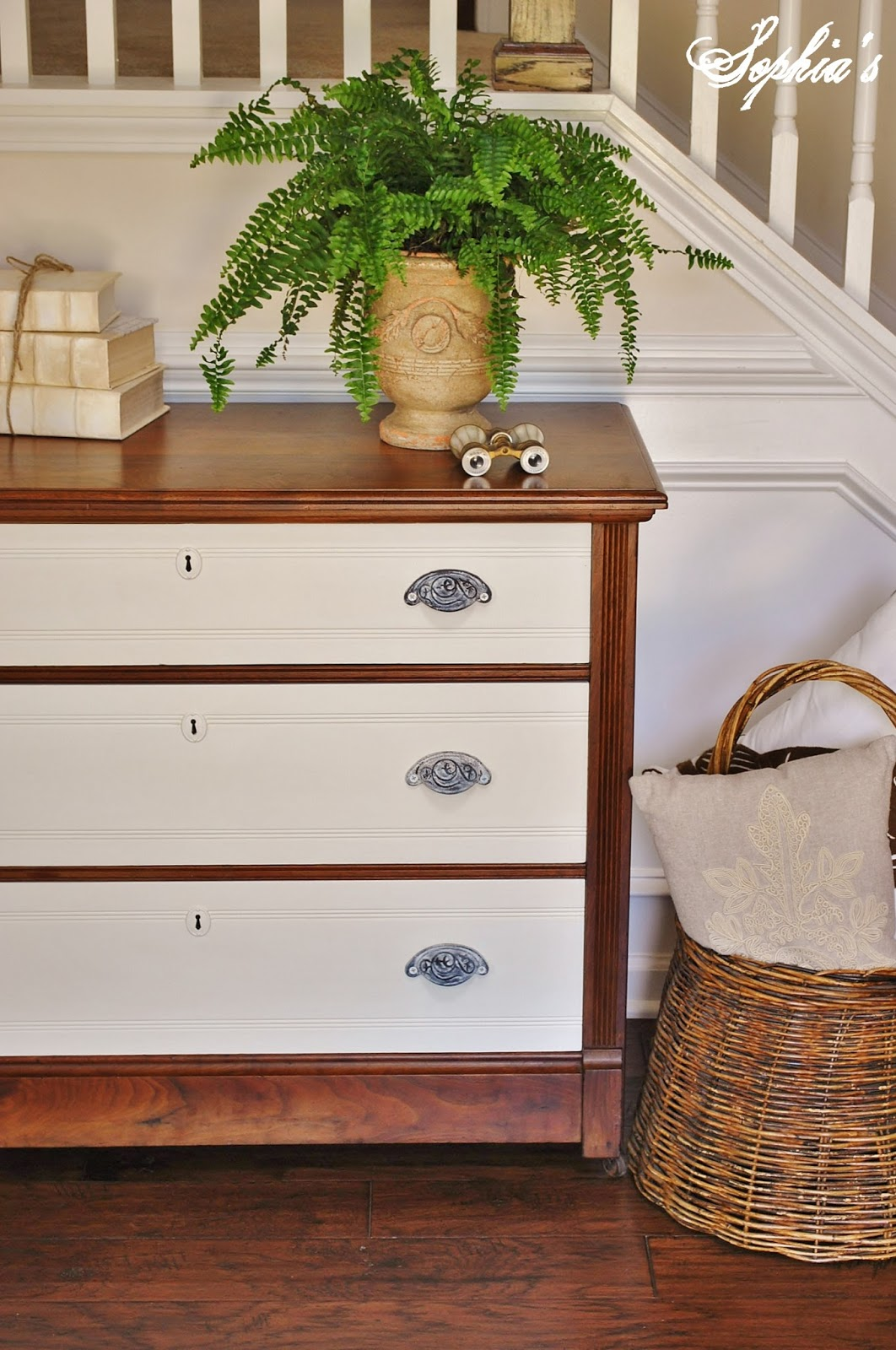 TwoToned Painted Dresser