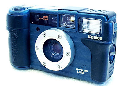 Konica Genba Kantoku 28WB, Front right
