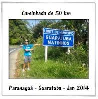 50 Km a pé