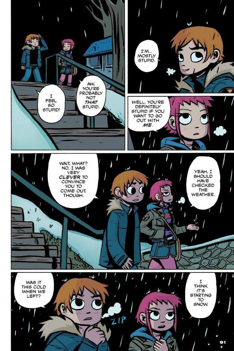 Read online Scott Pilgrim comic -  Issue #1 - 83