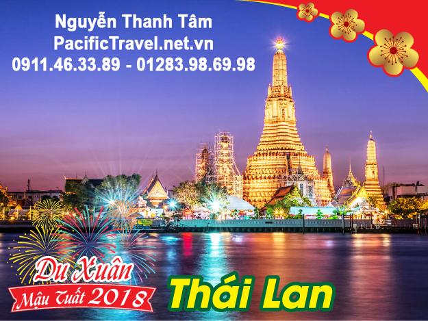 Báo giá tour du lịch Thái Lan trực tiếp từ hệ thống website Tâm Pacific Travel