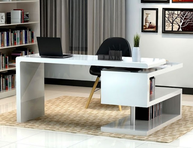 best buy contemporary white office furniture for home sale