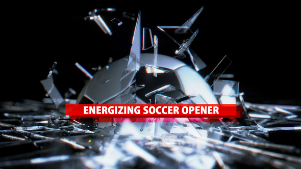 espreview VIDEOHIVE ENERGIZING SOCCER OPENER  After Effects Template download