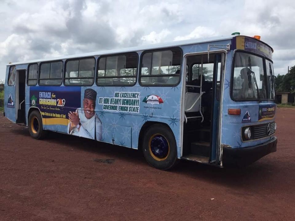 Christmas: Enugu indigenes get free transport from Gov. Ugwuanyi