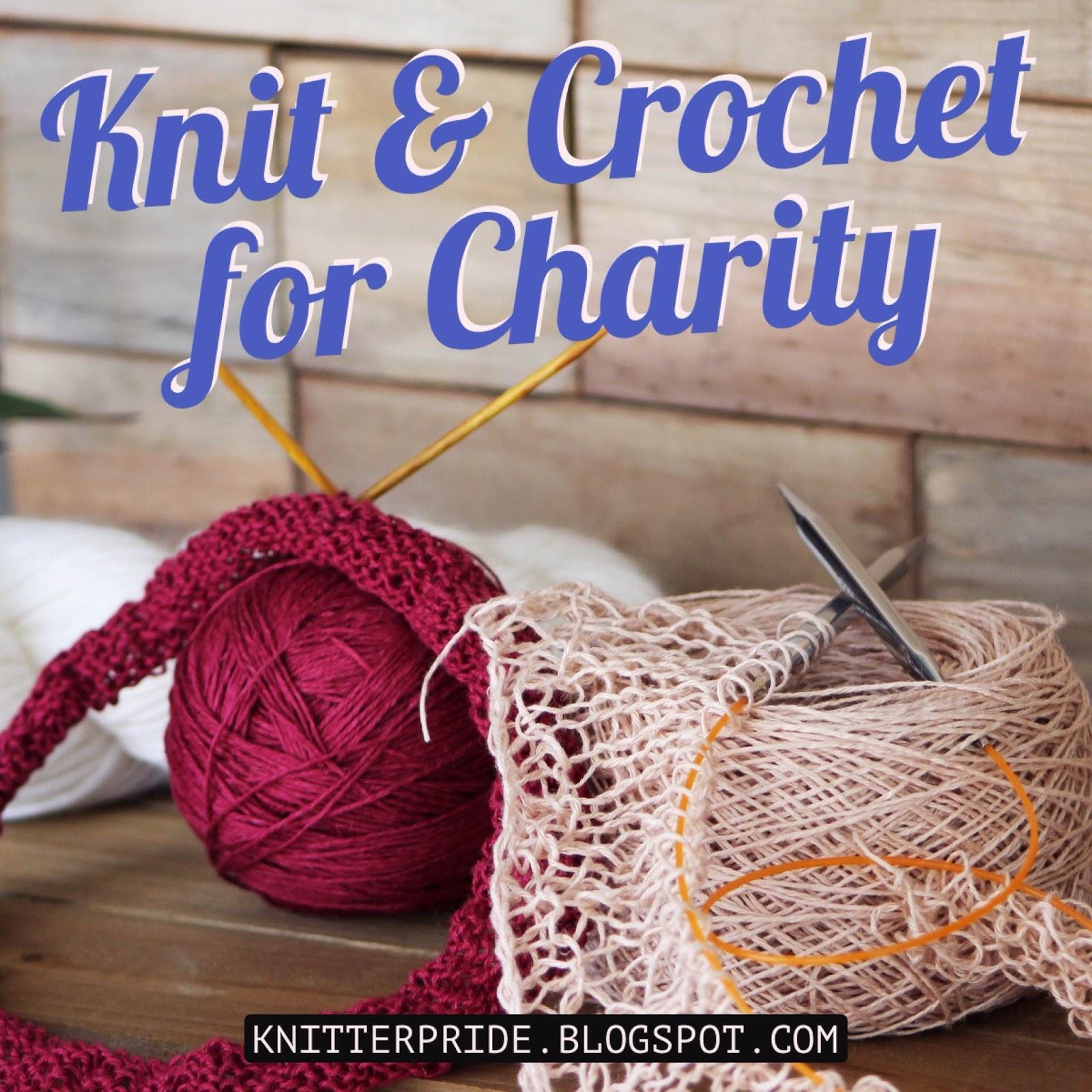 Knitting Or Crocheting For Charity : Knitter s pride winner knit crochet for charity