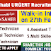 Abu Dhabi Urgent STAFF RECRUITMENT - Khansaheb LLC - Apply Now