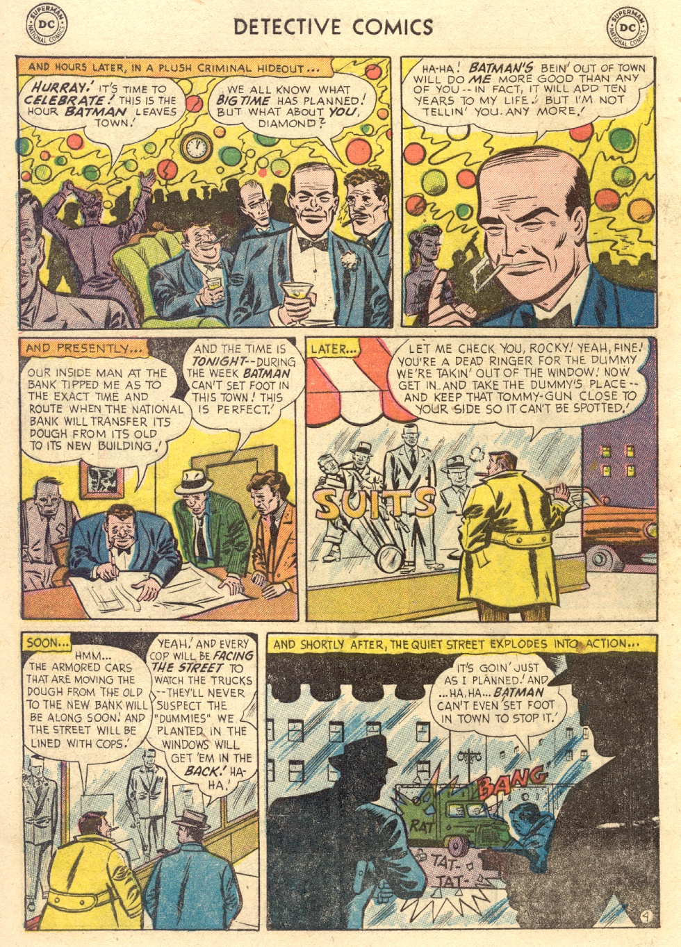 Read online Detective Comics (1937) comic -  Issue #186 - 6