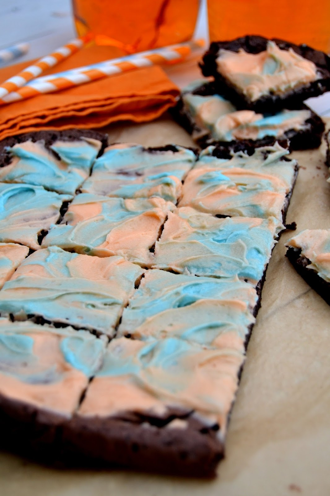 Cakeyboi: Irn Bru Brownies