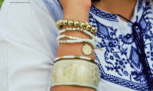How to stack bracelets/bangles