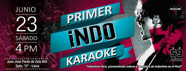 Indoreencuentro - Indokaraoke (I edición)