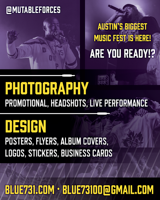 Concert & event photography for SXSW!