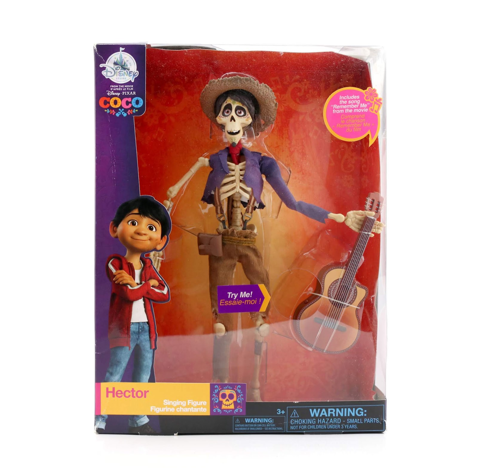 disney store hector singing doll