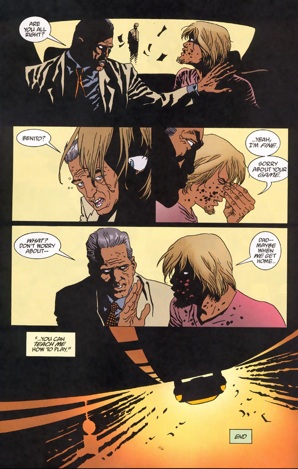 Read online 100 Bullets comic -  Issue #39 - 24