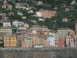 Camogli waterfront, Liguria