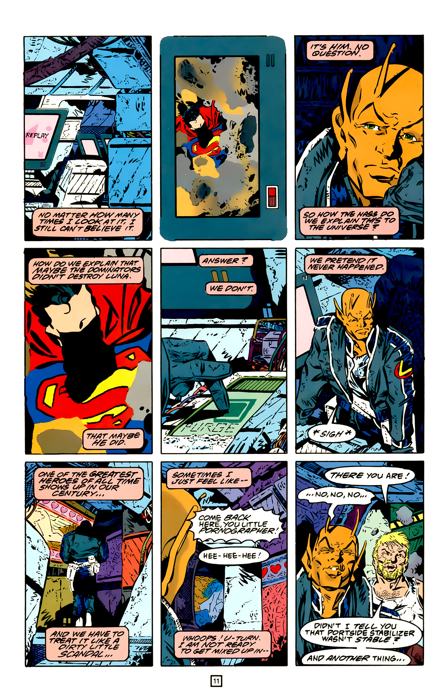 Legion of Super-Heroes (1989) 20 Page 11