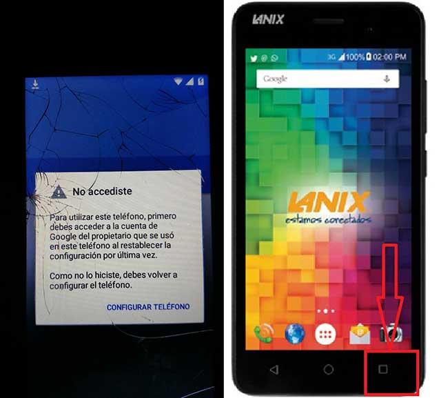 Quitar Cuenta De Google Lanix X510
