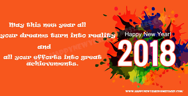 Happy New Year 2018 Msg For Whatsapp