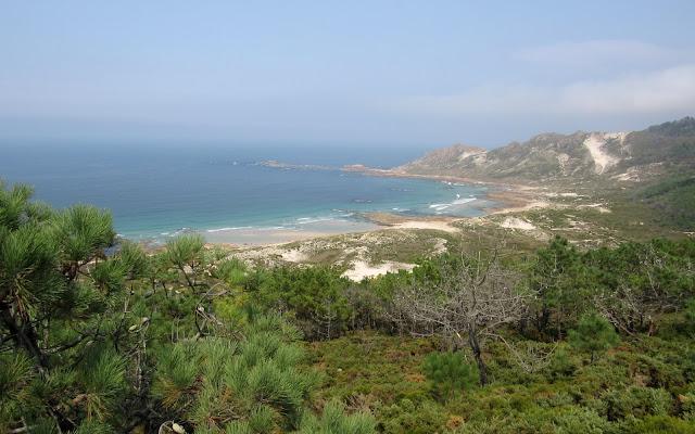Playa de Trece y duna ramplante. Camariñas