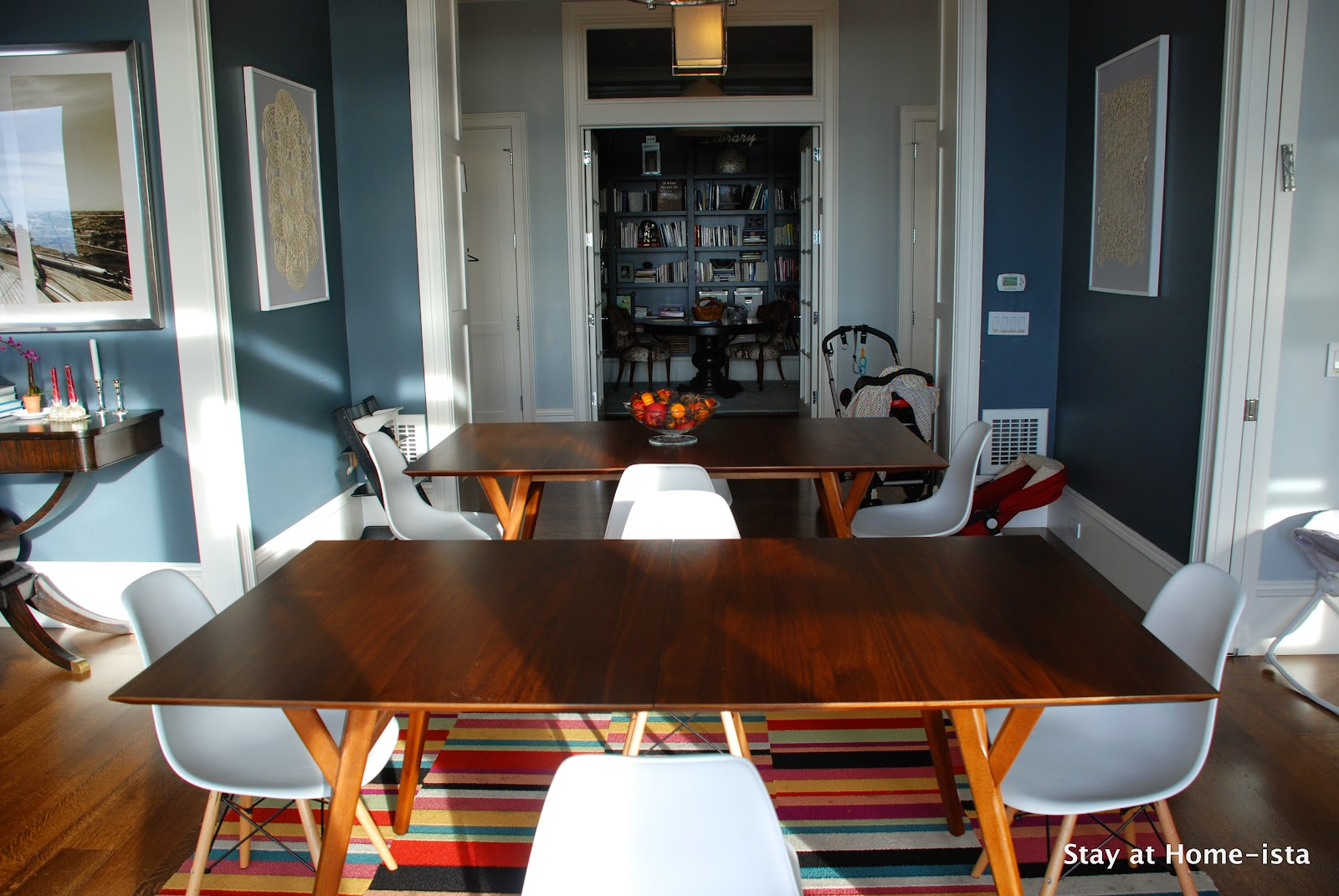 Stay At Home-ista: Dining Room Update- 2 Tables