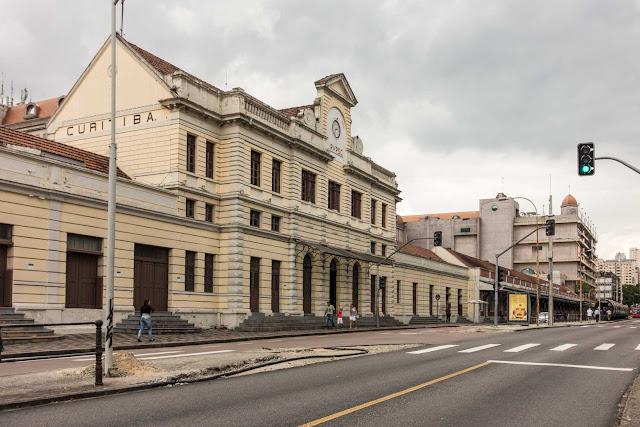 Antiga Estação Ferroviária de Curitiba