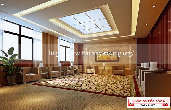 Mẫu trần nhà phòng khách 7